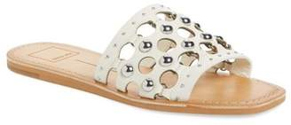 Dolce Vita Celita Perforated Studded Slide Sandal (Women)