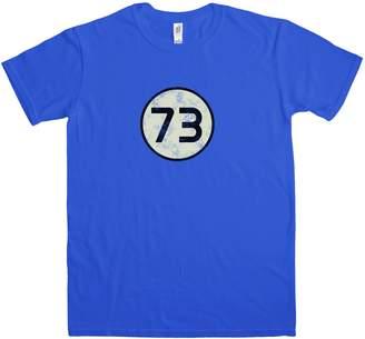 Theory Refugeek Tees Mens T Shirt Distressed 73 T Shirt