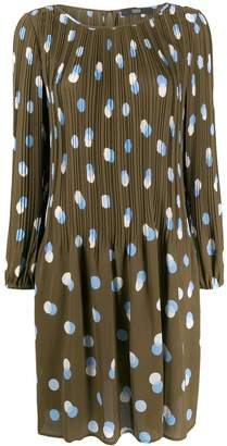 Steffen Schraut pleated day dress