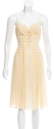 Burberry Printed Sleeveless Dress