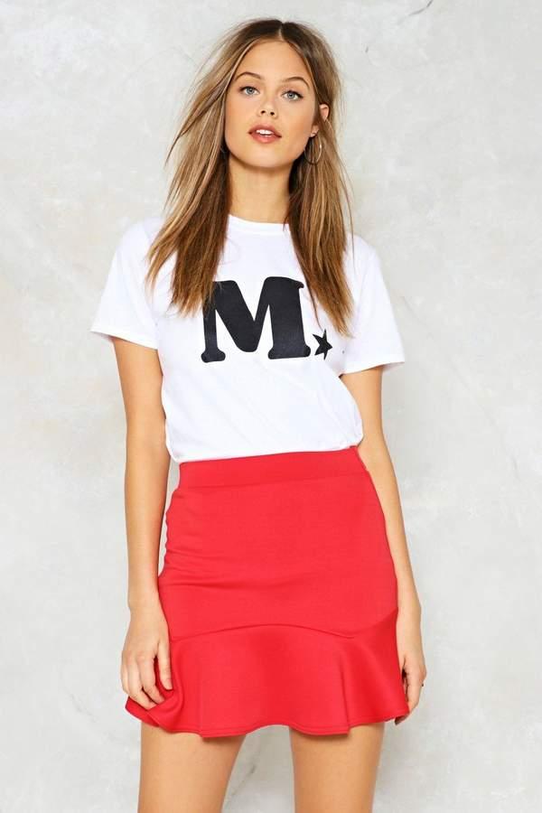 nastygal Spinning Around Mini Skirt