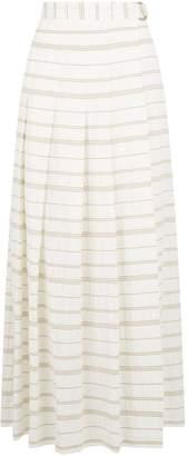 Lorena Antoniazzi Striped Maxi Skirt