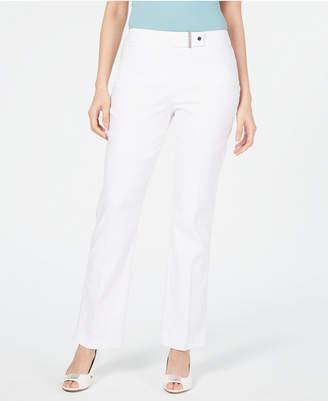 JM Collection Curvy-Fit Tummy-Control Pants