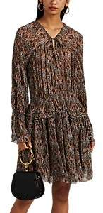 Women's Lyz Abstract-Pattern Georgette Dress Size 34