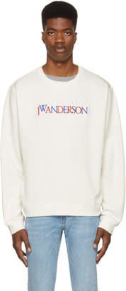 J.W.Anderson Off-White Logo Sweatshirt