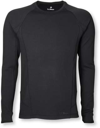 L.L. Bean L.L.Bean Power Dry Stretch Base Layer, Midweight Long-Sleeve Crew