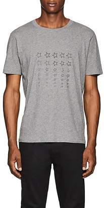 Saint Laurent Men's Star-Print Cotton T-Shirt