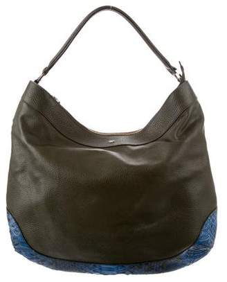 Anya Hindmarch Python & Leather Hobo