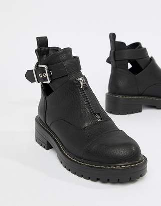 Blink Flat Ankle Boots