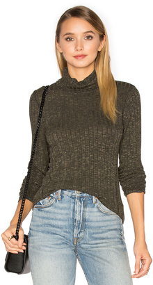 Michael Stars Long Sleeve Turtleneck Top $88 thestylecure.com