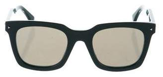 Fendi Reflective Square Sunglasses w/ Tags