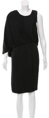 Fendi Draped Knee-Length Dress w/ Tags