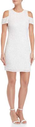Parker Marcie Sequin Cold Shoulder Dress
