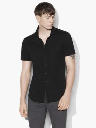 John Varvatos Short Sleeve Button Front Shirt