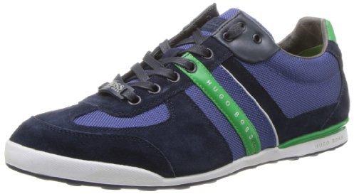 HUGO BOSS BOSS Green by Men's Akeen Fashion Sneaker,Medium Blue,9 M US