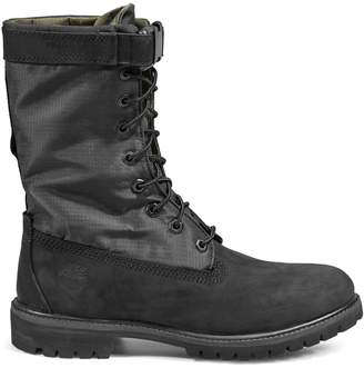 Timberland Lace-Up Military Boots
