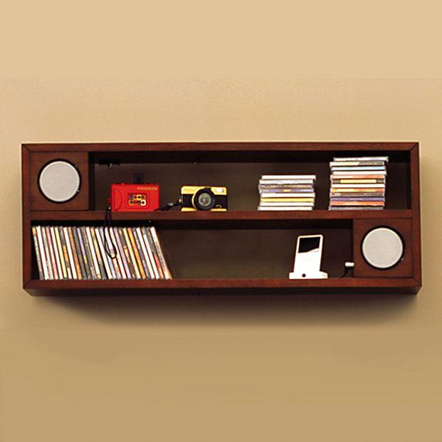Modular Speaker Double Shelf