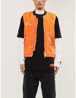 Heron Preston x Carhartt WIP embellished cotton vest