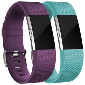 Fitbit For Charge 2 Bands(2 Pack), Oak Leaf Replacement Accessory Wristbands for Charge 2 HR,Small Large