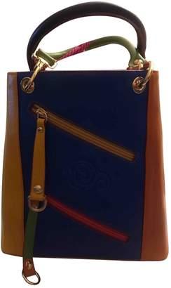Cerruti Multicolour Leather Handbag