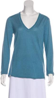 ATM Anthony Thomas Melillo Cashmere Long Sleeve Top