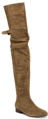 Made In Brazil Suede Over The Knee Boots