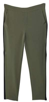 MANGO Contrasting panels trousers