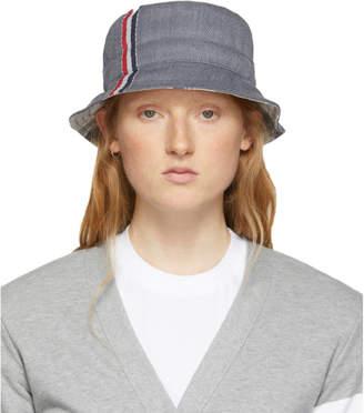 Thom Browne Grey Funmix Bucket Hat