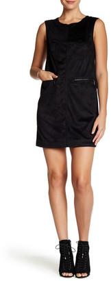 Rachel Rachel Roy Woven Faux Suede Shift Dress $149 thestylecure.com