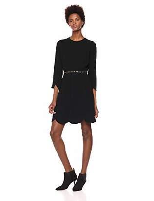 Shoshanna Women's Maybie Long Sleeve A-Line Dress