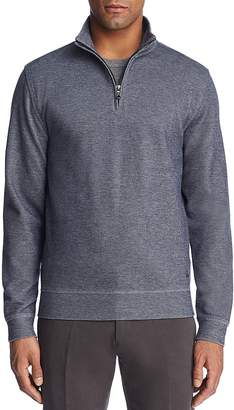 Brooks Brothers Knit Double Face Quarter-Zip Sweater