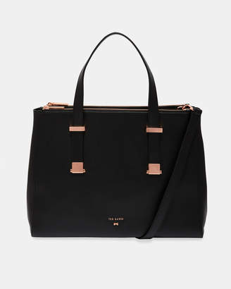 7eb93a8a5 Ted Baker AMINAA Adjustable handle large leather tote bag