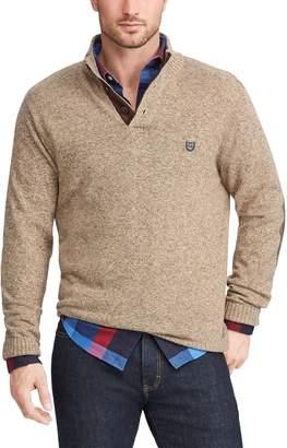 Chaps Big & Tall Regular-Fit Mockneck Pullover Sweater