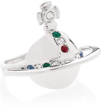 Vivienne Westwood Solid Orb Ring-Silver