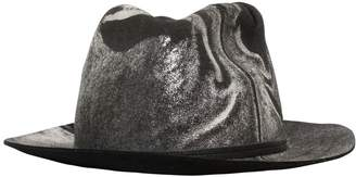 Möve Metallic Marble Effect Wool Felt Hat