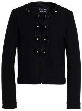Moschino Embellished Cotton-blend Jacquard Jacket