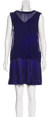 Rebecca Taylor Print Silk Dress Set