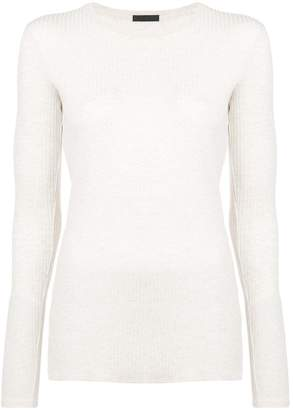 ATM Anthony Thomas Melillo ribbed fitted top