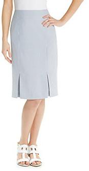 Evan Picone EvanPicone Evan-Picone® Seersucker Pencil Skirt