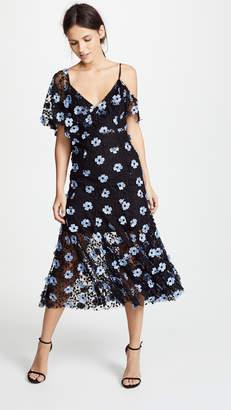 La Maison Talulah Crave You Asymmetrical Midi Dress