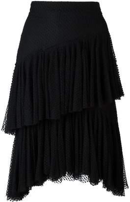 Philosophy di Lorenzo Serafini layered lace skirt