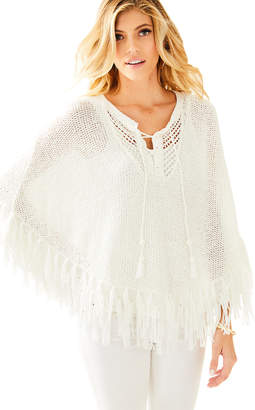 Lilly Pulitzer Val Poncho Sweater