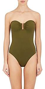 WOMEN'S CASSIOPEE SWIMSUIT - OLIVE SIZE 38