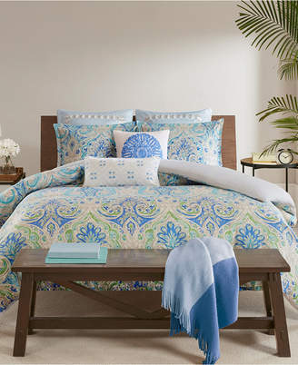 Echo Ravi Cotton 3-Pc. King Duvet Cover Set Bedding