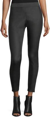 Romeo & Juliet Couture Elastic-Waist Waxed Leggings