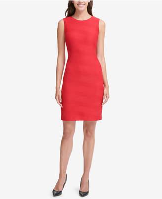 Tommy Hilfiger Textured Sheath Dress