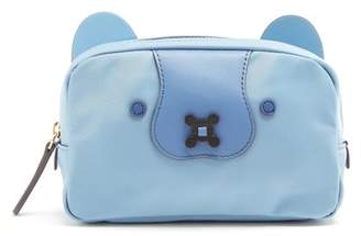 Anya Hindmarch Husky Make Up Bag - Womens - Light Blue