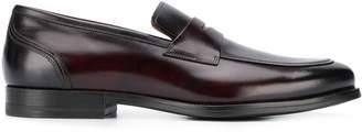 Santoni two-tone loafers