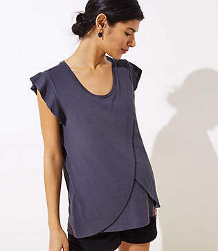 LOFT Maternity Nursing Top