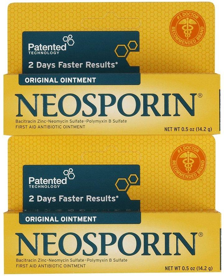 Neosporin Original Antibiotic Ointment, 2 pk